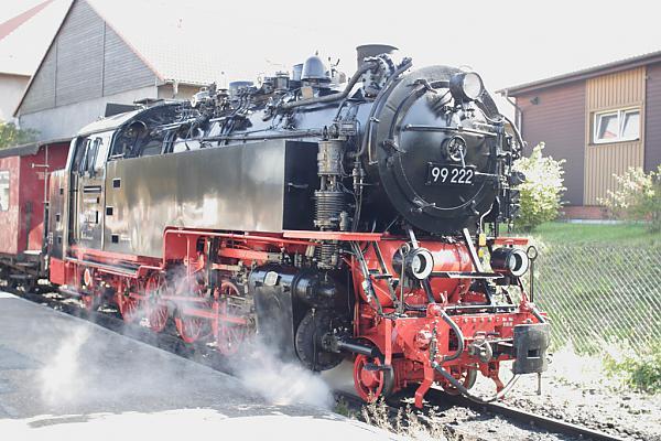 BR 99 222 отправление из Wernigerode